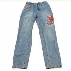 Minkpink x Disney Rose Scando Mom Jeans